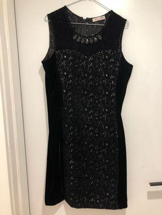 Alannah Hill velvet dress