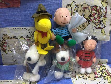 SIA Snoopy soft toy set new