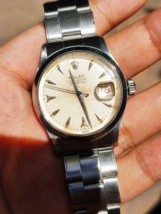 1954 Rolex 6518 Oyster red date seiko omega