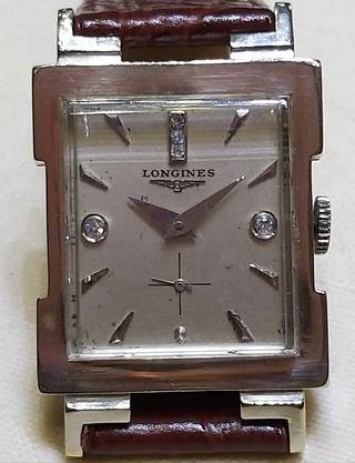 古董14K殼上鏈LONGINES浪琴錶
