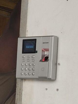 Fingerprint access door supply and Install
