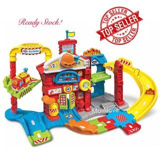 Brand New Sealed in Box VTech Go! Go! Smart Wheels Save the Day Fire Station for Age 1-5 Year Old (Best Baby Boy Toy Toys Birthday Present)