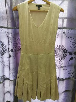 Mango pleated dress
