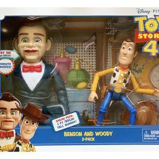 全新 Toy story 4 Benson and Woody 胡迪set