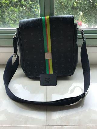 MCM Crossbody Shoulder Bag Handbag, Black