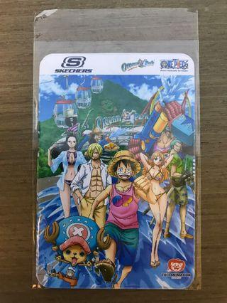 One Piece 海賊王 x Ocean Park 海洋公園 八達通套