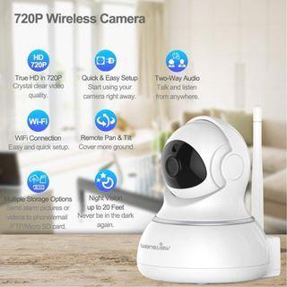 Wansview Q3 720P Two-Way Audio IP Camera (White)