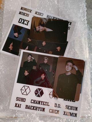 WTT EXO Lightstick ver. 3 Kai photocard