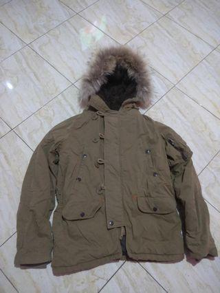 Back Number parka N3B jaket