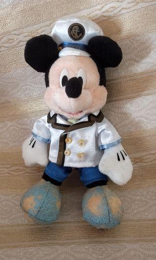 🚚 Authentic Disney Mickey 17cm Sailor Plush Keychain/ Bag Pin