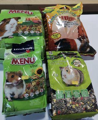 Selling Cheap! HAMSTER/Rabbits/SMALL ANIMAL FOOD & BEDDING