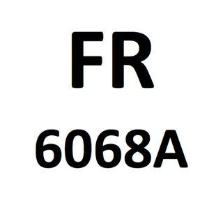 Motorcycle Plate Number FR 6068 A
