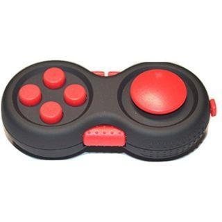 1316) Fidget Pad - Anti Stress Toy - Anxiety/ADHD Relief - Fidget Hand Shank (Red)