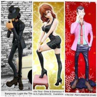 (Bundle) Lupin the 3rd Figurines