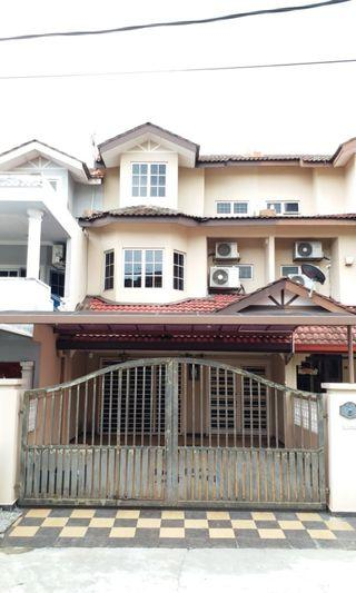 2.5 Stry House for Rent Renovated (Behind Extended) and Partially furnished at Cheras Jaya