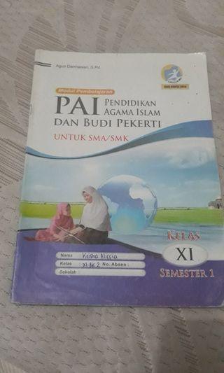 Buku lks pendidikan agama islam kelas 11 semester 1