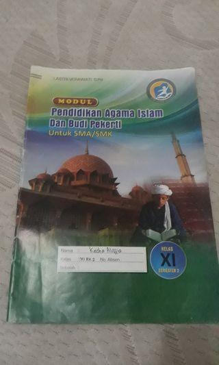 Buku pendidikan agama islam kelas 11