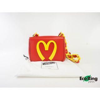 Moschino 莫斯奇諾 Jeremy Scott McDonald Lovin' It Chain Shoulder Bag 麥當勞 單鏈包 單肩包 100%真品