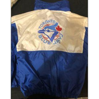 Vintage Blu Jays Windbreaker