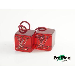 Louis Vuitton 路易威登 Red Cube Hairband 紅色 方形 髮圈 100%真品