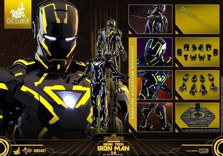 全新現貨咖盒未開動漫節限定2019《鐵甲奇俠2》 Neon Tech Iron Man 2.0 MMS523D29