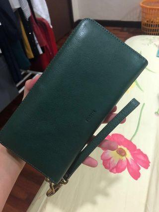 (REDUCED) Fossil Emma Green Wallet