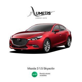 Mazda 3 - Car Rental for Grab/Personal use
