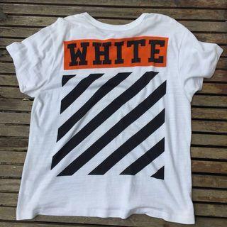 Off White Orange Box Tee