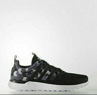 Sepatu Lari Adidas Original Cloudfoam Lite Racer Black Camouflage