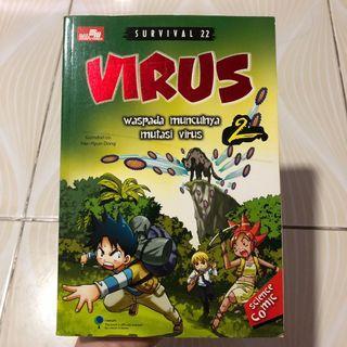 Komik Pengetahuan : Virus