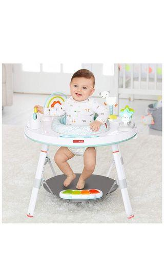 Skip Hop Baby's View 3-Stage Activity Center, Silver Lining Cloud