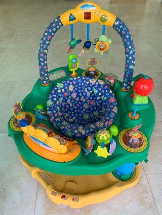 ExerSaucer Evenflo baby jumper / can adjust height as baby grows
