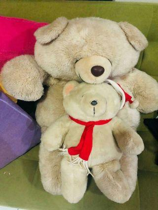 Boneka Teddy Bear,forever friend take all 200rb 90x60