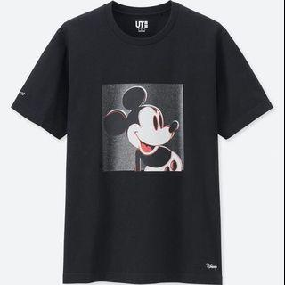 Andy warhol UNIQLO mickey Disney shirt