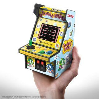 (全新日本直送) My Arcade Retro Arcade Micro Player 懷舊 迷你手提街機 (泡泡龍 Bubble Bobble)