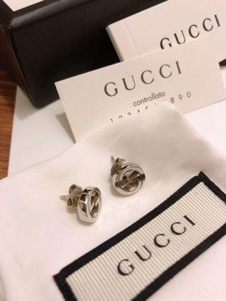 Gucci interlock stud earrings