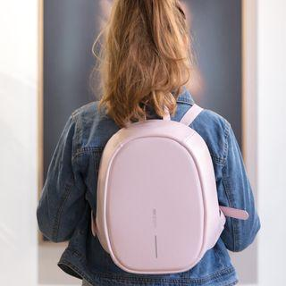 Anti Theft Bobby Backpack (Baby Pink)