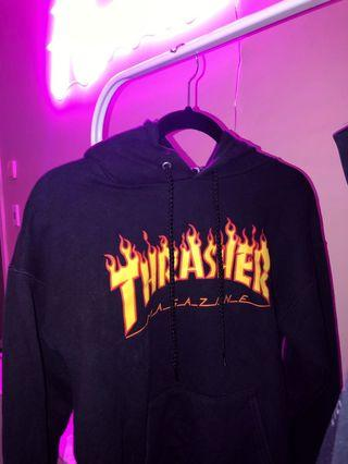 Authentic Thrasher Hoodie Black