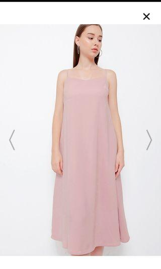 NEW KEITH DRESS PINK