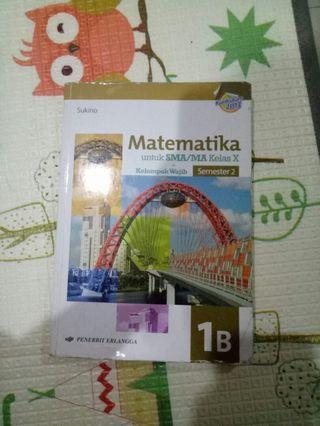 MATEMATIKA 1B Sukino sma/ma kelas 10