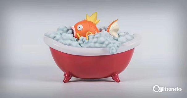 🥰接單 Ojitendo Yo-系列第二彈 鯉魚王出浴🥰寵物小精靈 寶可夢 比卡超