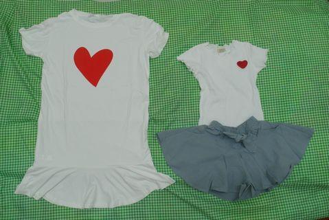 Love Mum & kids suit