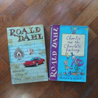 🚚 Roald Dahl Books: Charlie and the Chocolate Factory, The Wonderful Story of Henry Sugar & 6 More