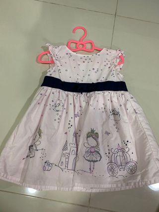 [Preloved] (6M-9M) Early Days Dress