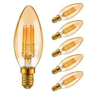 1324) Emotionlite E14 LED Bulbs, LED 4W E14 2200K x6