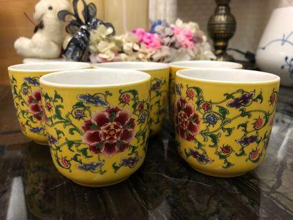 🚚 英國Diana Royal 全新宮廷風茶杯組5入 現在322元