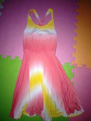 Orange juice dress