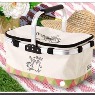 OB鋁框摺疊保冷野餐籃