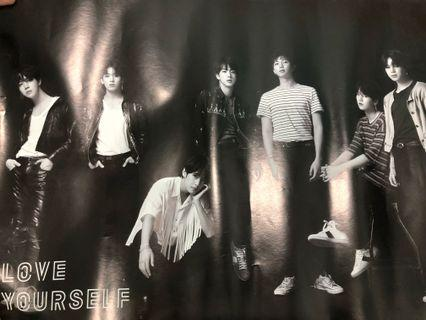 BTS Love Yourself Tear Official Poster (O Version)