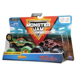🚚 Monster Jam Double Pack Octon8er, Ice Cream Man.